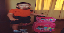 POA Works With Clients from All Over The World! Micaela is proud to show her Dora the Explorer prosthesis to her friends at school in Peru