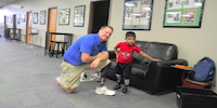 Tyler, Bilateral Amputee, Walking Independently – With Confidence!
