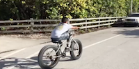 Franklin, Quadruple Amputee, Rides a Bike for the First Time since His Amputations!