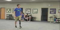 Colin Cook, Shark Attack Survivor: Moving Forward with Prosthetic Leg