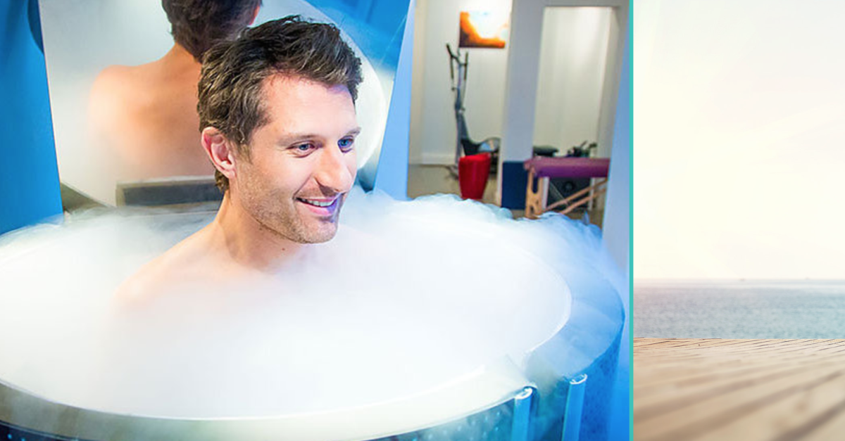 Cryotherapy Center now open in our facility
