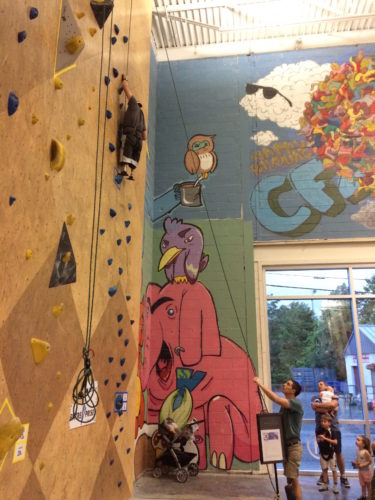 Boston Herald article on USA Adaptive Climbing Nationals – June 2017