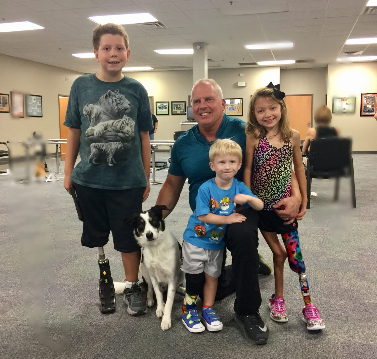 Jaelyn's 1st Prosthetic Leg – She's On Her Way!