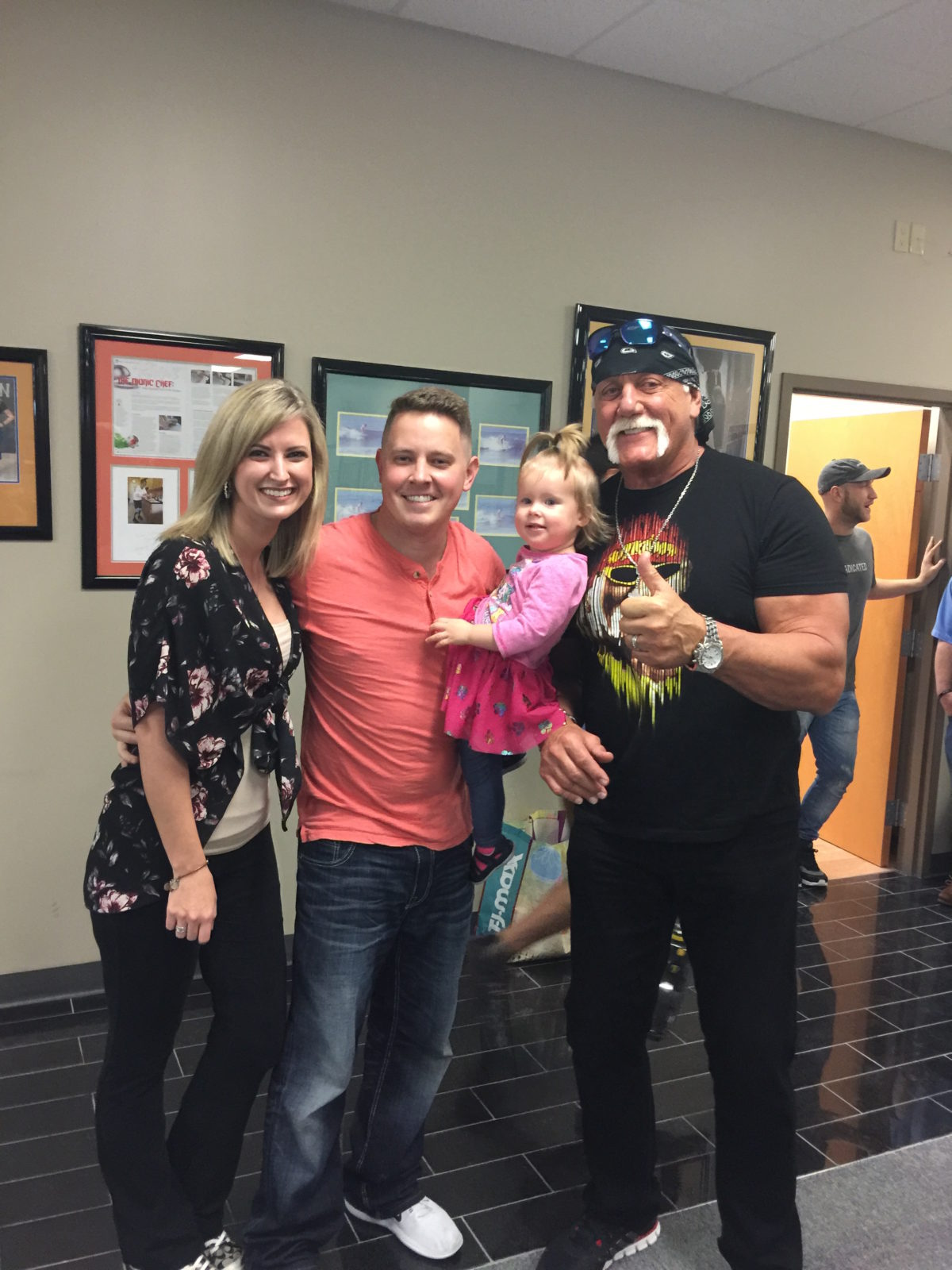Hulk Hogan & Rebekah Gregory At POA