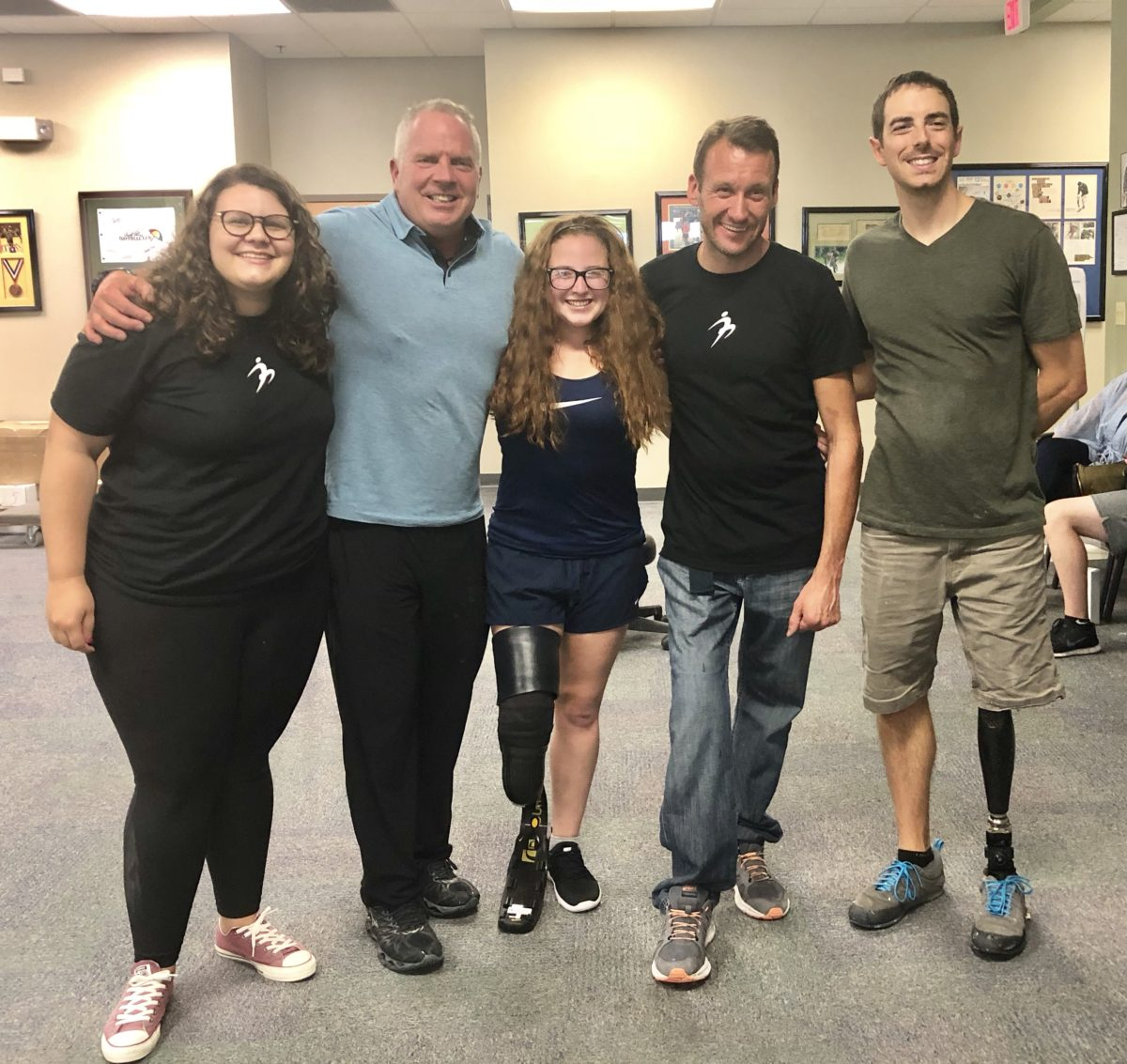 Shaylyn Runs For First Time in Her Life with Prosthetic Leg